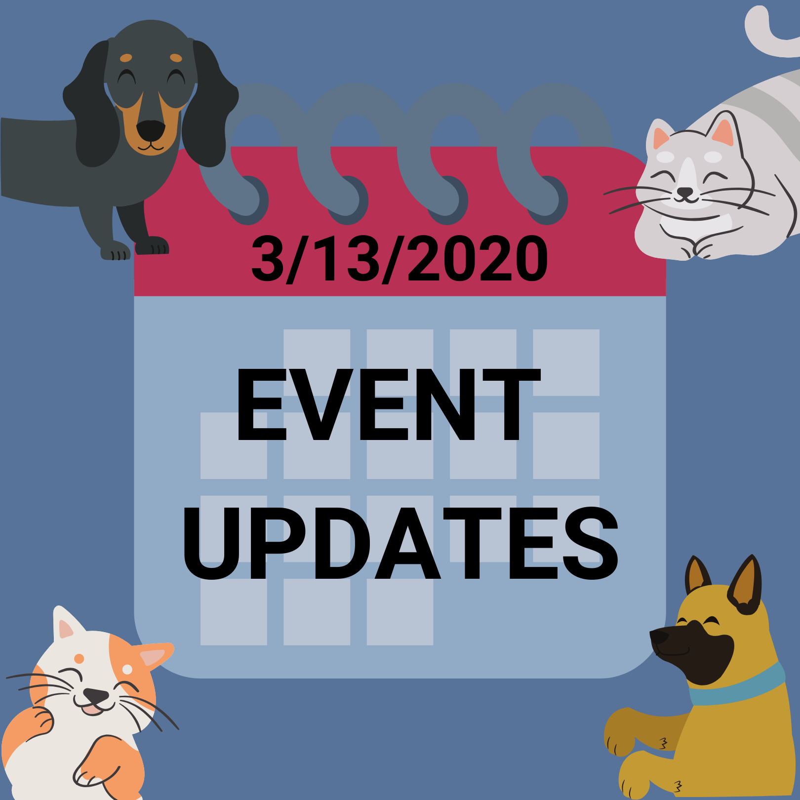 Events Update